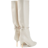 JIL SANDER Leather Knee Boots 585 EUR - Boots -