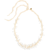 JIL SANDER Silk and faux pearl necklace - Necklaces -
