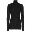 JIL SANDER Wool and silk turtleneck swea - Pullovers -