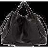 JIL SANDER black bag - ハンドバッグ -