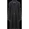 JIL SANDER black coat - Jakne in plašči -