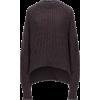 JIL SANDER dark grey  sweater - Puloverji -