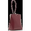 JIL SANDER dark red bag - Hand bag -