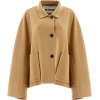 JIL SANDER neutral camel wool jacket - Jacket - coats -