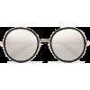 JIMMY CHOO Andie round-frame glittered  - Sunglasses - $460.00
