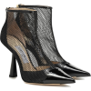 JIMMY CHOO Ankle boots Kix 100 in patent - Botas - 995.00€
