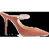 JIMMY CHOO Bing 100 embellished-suede pu - Scarpe classiche -
