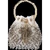 JIMMY CHOO Bon Bon bead-fringed bag - Clutch bags -