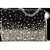 JIMMY CHOO CALLIE Black Suede Clutch Bag - Borse con fibbia - 2.18€