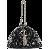 JIMMY CHOO Callie crystal-embellished su - Clutch bags -