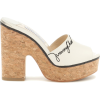 JIMMY CHOO Deedee 125 leather sandals - Sandały -