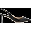 JIMMY CHOO Erin 60 leather slingback pum - Klasične cipele -
