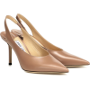 JIMMY CHOO Ivy 85 leather slingback pump - Classic shoes & Pumps -