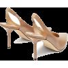 JIMMY CHOO  Ivy 85 slingback leather pum - Klasične cipele -