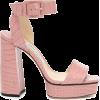 JIMMY CHOO Jax 125 leather platform sand - Sandals -