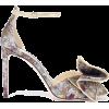 JIMMY CHOO Karlotta 100 bow-embellished - Klasyczne buty -