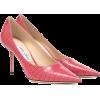 JIMMY CHOO Love 85 croc-embossed leather - Classic shoes & Pumps -