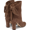 JIMMY CHOO  Marlene 85 suede ankle boots - Botas -