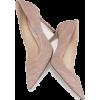 JIMMY CHOO Romy Pink Suede Pumps - Klasične cipele -
