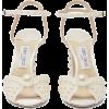 JIMMY CHOO Sacaria faux-pearl embellishe - Sandale -