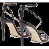 JIMMY CHOO  Tesca 100 patent-leather san - Klassische Schuhe -