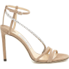 JIMMY CHOO Thaia 100 suede sandals - Sandals -
