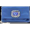 JIMMY CHOO Titania clutch in satin - Clutch bags -