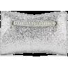JIMMY CHOO VENUS Silver Galactica Glitte - Clutch bags - 895.00€  ~ $1,042.05