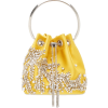 JIMMY CHOO yellow crystal embellished - Hand bag -