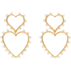 JOANNA LAURA CONSTANTINE gold-plated pea - Earrings -