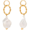 JOANNA LAURA CONSTANTINE yellow gold-pla - Earrings -