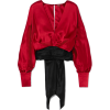 JOHANNA ORTIZ Senegal silk-satin blouse - Camisas manga larga - $1,150.00  ~ 987.72€