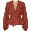JOHANNA ORTIZ puff sleeve blouse - 半袖衫/女式衬衫 -