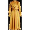 JONATHAN SIMKHAI yellow gold dress - Vestiti -