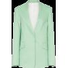JOSEPH Barr collarless cotton-blend blaz - Jacket - coats -