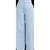 JOSEPH  Fade high-rise buttoned-leg twil - Spodnie Capri -