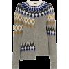 JOSEPH fair isle patchwork wool jumper 3 - Puloveri -