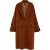 JOSEPH wool long line coat - Jacket - coats -
