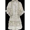JULIET DUNN embroidered cotton dress - Dresses -