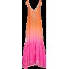 JULIET DUNN embroidered silk dress - sukienki -