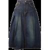 JUNYA WATANABE Denim midi skirt - Skirts - $300.00