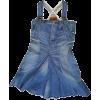 JUNYA WATANABE denim mini dress - 连衣裙 -