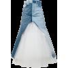 JUNYA WATANABE denim tulle skirt - Skirts -