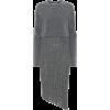 JW ANDERSON Asymmetric wool-blend knit d - sukienki -