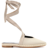 JW ANDERSON Canvas lace-up sandals - Flats -