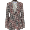 JW ANDERSON Checked virgin wool blazer - Chaquetas -