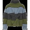 JW ANDERSON Cutout twisted striped wool - Puloverji - 1.13€