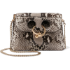 JW ANDERSON Pierce mini python shoulder - Kurier taschen -