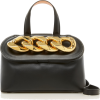 JW Anderson Lid Chain Leather Top Handle - Hand bag -
