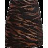 Jacquard Mini skirt - Skirts -